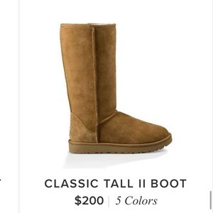 UGG CLASSIC TALL BOOT PERFECT FOR WINTER